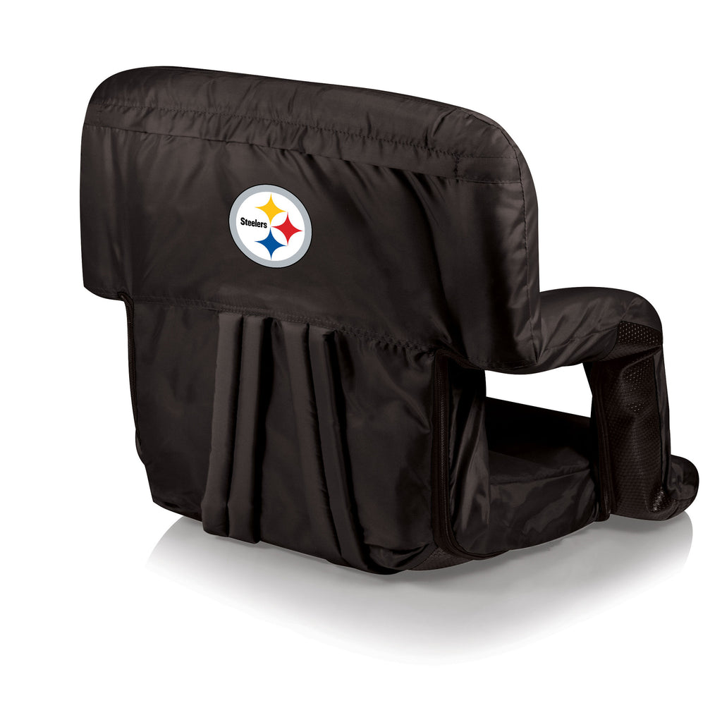 The Pittsburgh Steelers Ventura Stadium Seat and Bleacher Cushion Chair