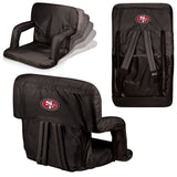 The San Francisco 49ers Ventura Seat for tailgating, stadiums and bleachers by Picnic Time
