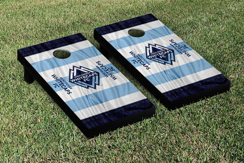 Vancouver Whitecaps MLS Soccer Scarf Version Cornhole Game Set by Victory Tailgate