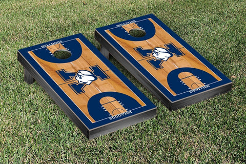 Yale Bulldogs Cornhole Game Set Basketball Court Version - Victory Tailgate 54622