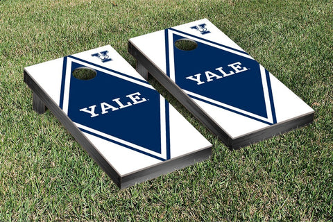 Yale Bulldogs Cornhole Game Set Diamond Version - Victory Tailgate 54643