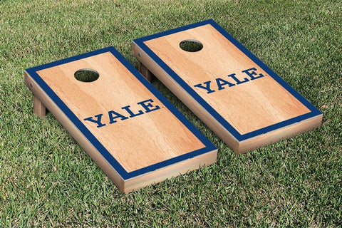 Yale Bulldogs Hardcourt Version Cornhole Set Victory Tailgate 54645