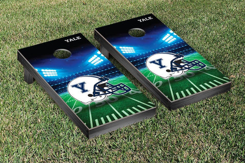 Yale Bulldogs Cornhole Game Set Stadium Version - Victory Tailgate 54646