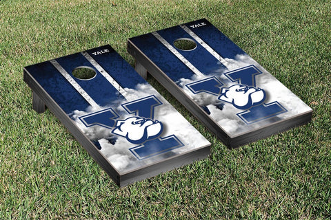 Yale Bulldogs Cornhole Game Set Vintage Version - Victory Tailgate 54649