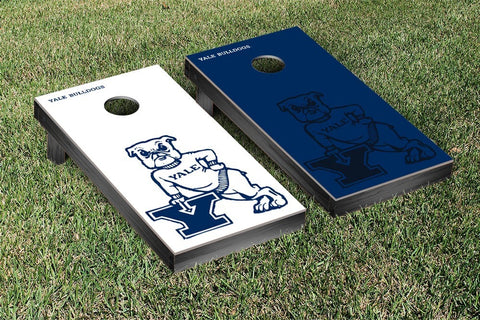 Yale Bulldogs Cornhole Game Set Watermark Version - Victory Tailgate 54650