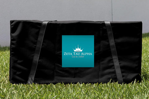 Zeta Tau Alpha Cornhole Carrying Case Victory Tailgate 32175