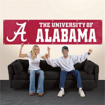 The Alabama Crimson Tide Giant Banner Party Animal BAL*