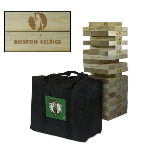 The Boston Celtics NBA Giant Jenga Tumble Tower Game