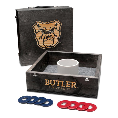 Butler Bulldogs One Hole Washers Tossing Game