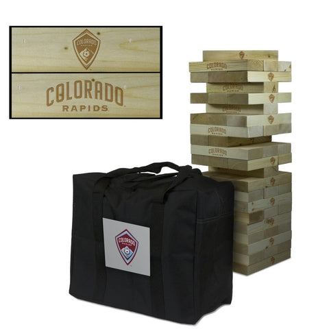 Colorado Rapids Giant Jenga Tumble Tower Game