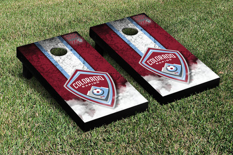Colorado Rapids CRSC Cornhole Game Set Vintage Version - Victory Tailgate 25100