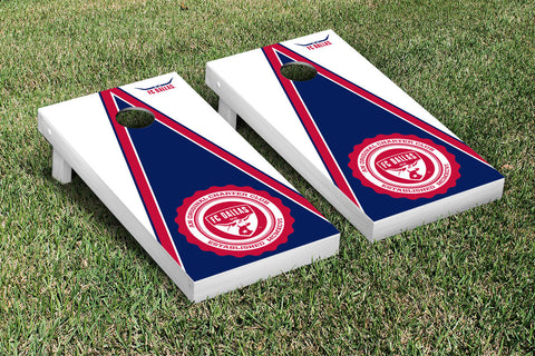 FC Dallas FCDSC Cornhole Game Set Triangle Version - Victory Tailgate 25118