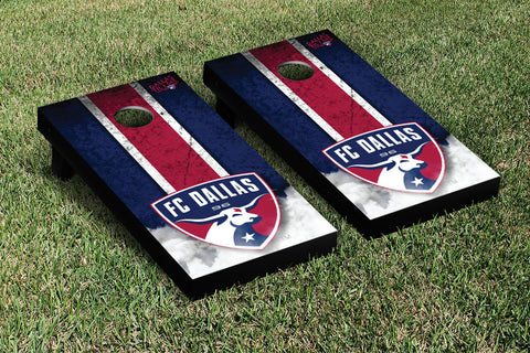 FC Dallas FCDSC Cornhole Game Set Vintage Version - Victory Tailgate 25120