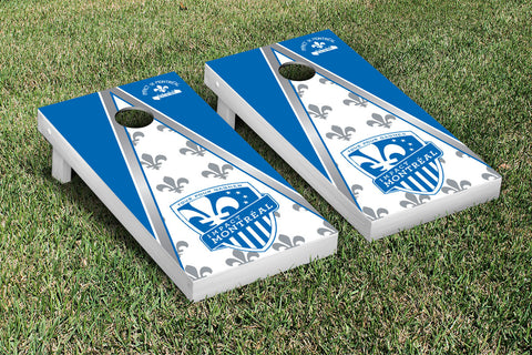 Montreal Impact MISC Cornhole Game Set Triangle Version - Victory Tailgate 25158