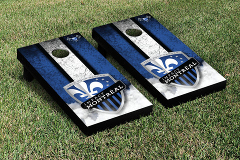 Montreal Impact MISC Cornhole Game Set Vintage Version - Victory Tailgate 25159