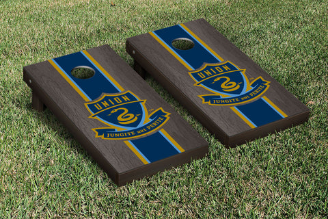 Philadelphia Union Zolos Onyx Stained Stripe Version Cornhole Set Victory Tailgate 25179