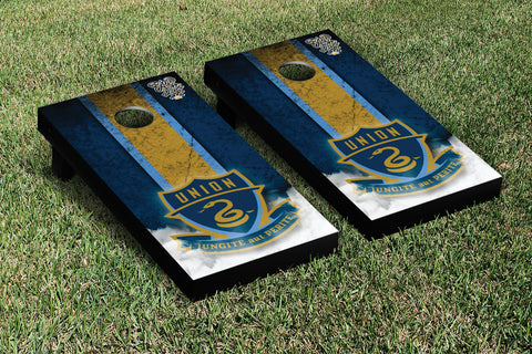 Philadelphia Union Zolos Cornhole Game Set Vintage Version - Victory Tailgate 25183