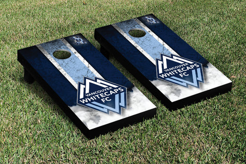 Vancouver Whitecaps FC Caps Cornhole Game Set Vintage Version - Victory Tailgate 25250