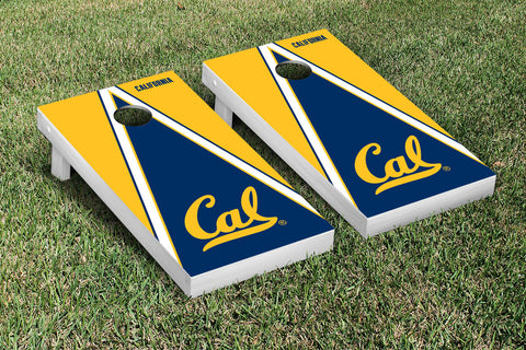 UC Berkeley Golden Bears Cornhole Game Set Triangle Version - Victory Tailgate 26679
