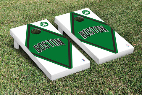 Boston Celtics NBA Cornhole Game Set Diamond Version - Victory Tailgate 28517
