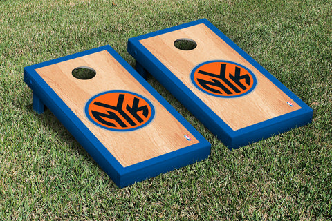 New York Knicks NBA Hardcourt Version Cornhole Set Victory Tailgate 28553