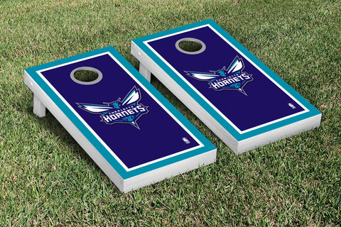 Charlotte Hornets Cornhole Game Set Border Version - Victory Tailgate 28562