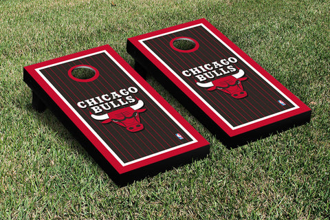 Chicago Bulls Cornhole Game Set Border Version - Victory Tailgate 28580