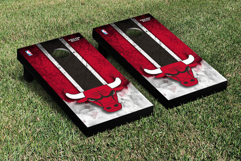 Chicago Bulls Cornhole Game Set Vintage Version - Victory Tailgate 28583