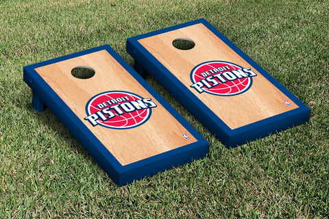 Detroit Pistons Hardcourt Version Cornhole Set Victory Tailgate 28639