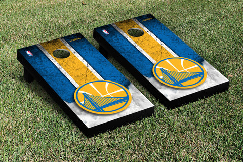 Golden State Warriors Cornhole Game Set Vintage Version - Victory Tailgate 28652