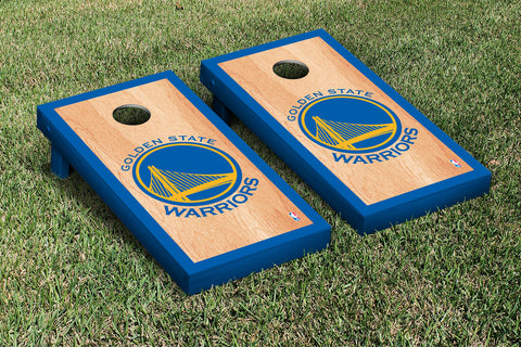 Golden State Warriors Hardcourt Version Cornhole Set Victory Tailgate 28653