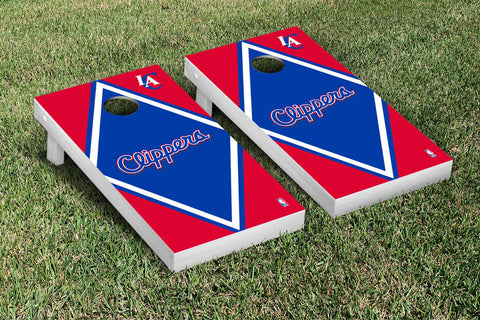 Los Angeles Clippers Cornhole Game Set Diamond Version - Victory Tailgate 28690