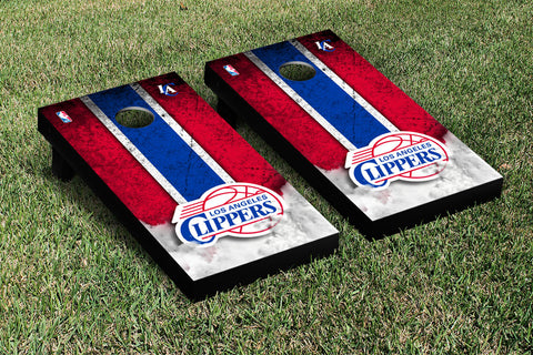 Los Angeles Clippers Cornhole Game Set Vintage Version - Victory Tailgate 28692
