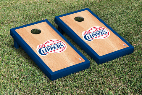 Los Angeles Clippers Hardcourt Version Cornhole Set Victory Tailgate 28693