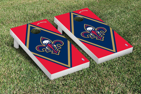 New Orleans Pelicans Cornhole Game Set Diamond Version - Victory Tailgate 28798