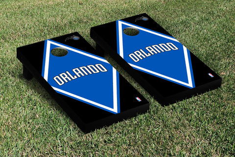 Orlando Magic Cornhole Game Set Diamond Version - Victory Tailgate 28842