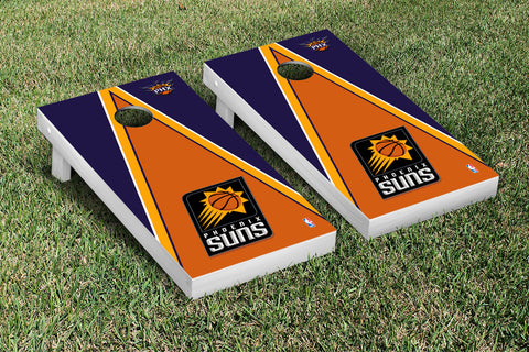 Phoenix Suns Cornhole Game Set Triangle Version - Victory Tailgate 28875