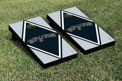 San Antonio Spurs Cornhole Game Set Diamond Version - Victory Tailgate 28924