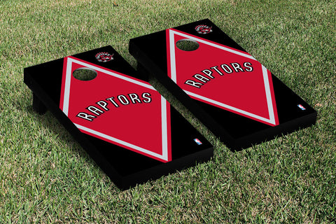 Toronto Raptors Cornhole Game Set Diamond Version - Victory Tailgate 28941
