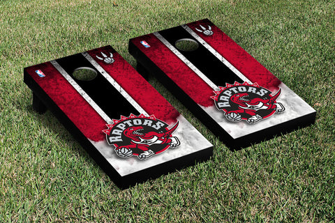 Toronto Raptors Cornhole Game Set Vintage Version - Victory Tailgate 28943