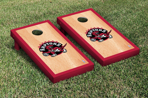 Toronto Raptors Hardcourt Version Cornhole Set Victory Tailgate 28944