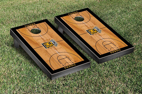 Colorado College Tigers Cornhole Game Set Basketball Court Version - Victory Tailgate 29501