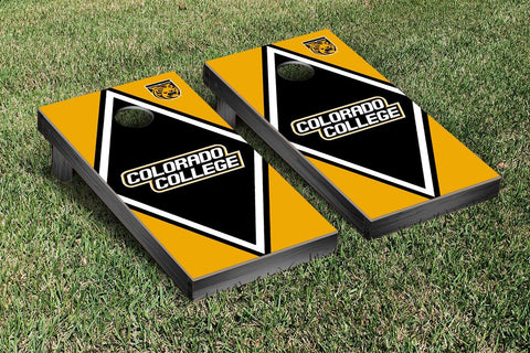 Colorado College Tigers Cornhole Game Set Diamond Version - Victory Tailgate 29503