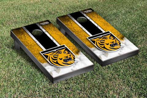Colorado College Tigers Cornhole Game Set Vintage Version - Victory Tailgate 29505
