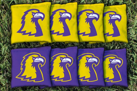 Tennessee Tech TTU Golden Eagles Corn Hole Bag Logo Set - corn filled