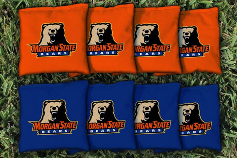 Morgan State MSU Bears Replacement Cornhole Bag Set (corn-filled)