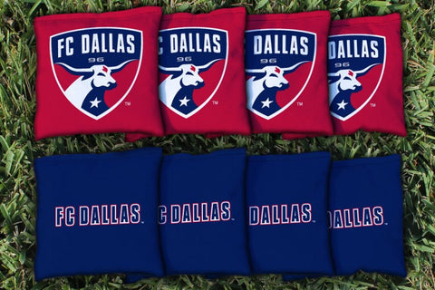 FC Dallas FCDSC Replacement Cornhole Game Bag Set (corn filled)