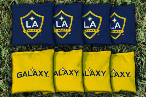 Los Angeles LA Galaxy LAGSC Cornhole All Weather Bags Victory Tailgate 25153