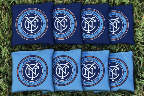 New York City FC Cornhole All Weather Bags Victory Tailgate 25199