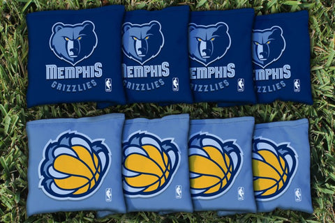 Memphis Grizzlies Cornhole All Weather Bags Victory Tailgate 28711